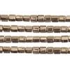 Delica 8/0 Cut Bronze Metallic